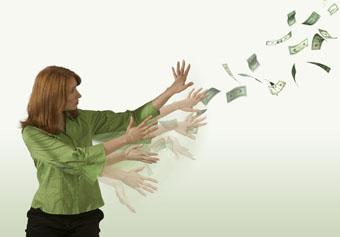Как удержать деньги